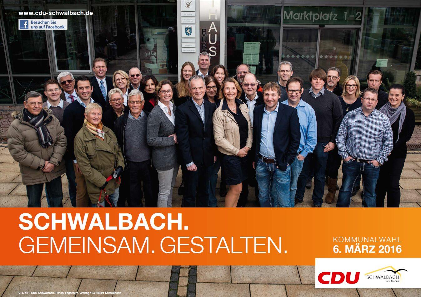 CDU Plakat 2016
