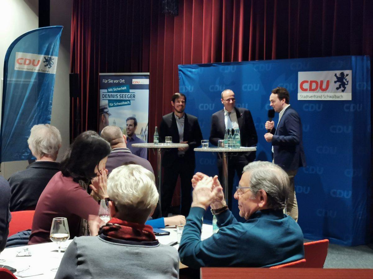 Neujahresempfang der CDU Schwalbach