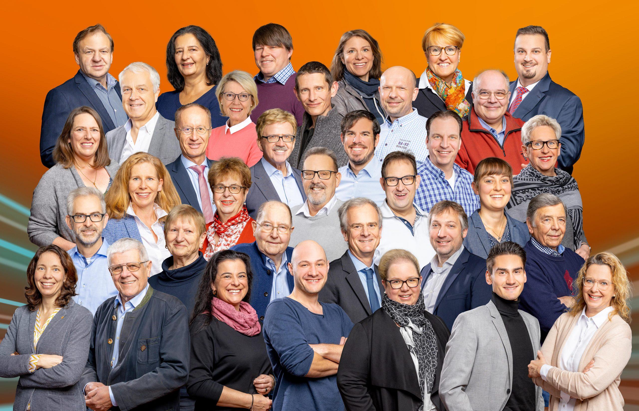 Gruppenbild unserer Kandidaten